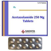 Acetazolamide 250 Mg Tablets