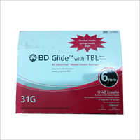 BD Glide With TBL Needle Insulin Syringes