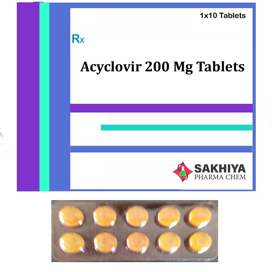 Acyclovir 200mg Tablets