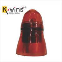 Red Transparent Skirt Pendant Holders