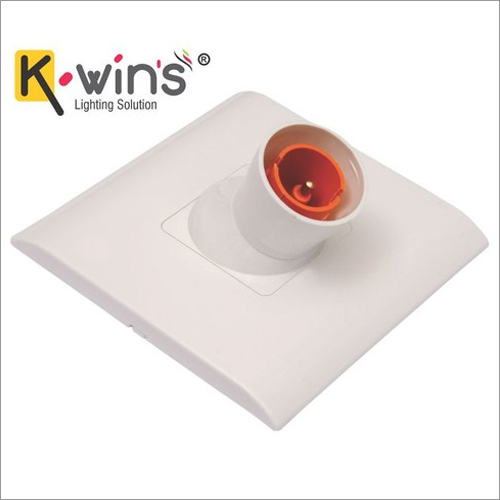 White ABS Electrical Angle Holder