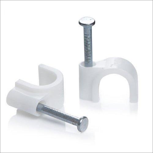 Circle Nail Cable Clip