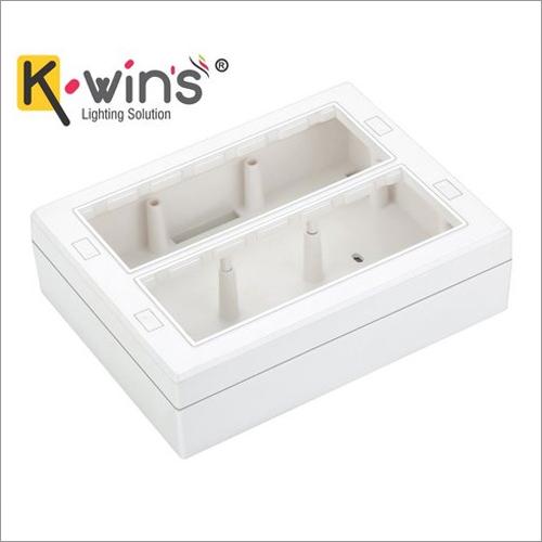 16M Modular Surface Silverline Gang Box