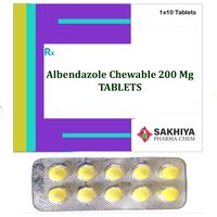 Albendazole Chewable 200mg Tablets