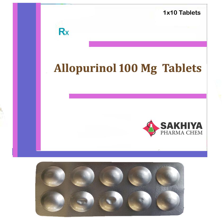 Allopurinol 100mg Tablets