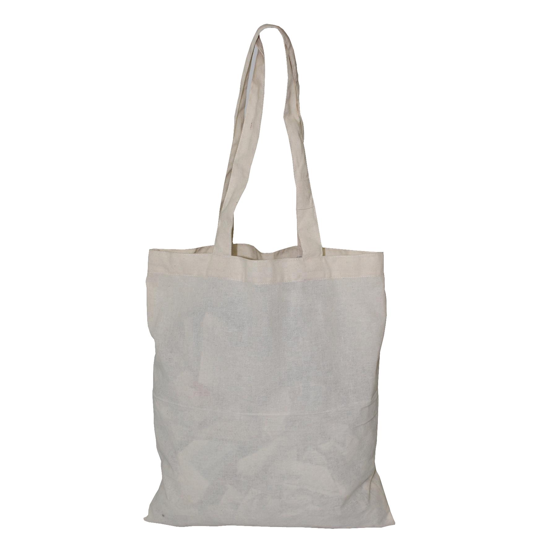 150 GSM Natural Cotton Grocery Bag