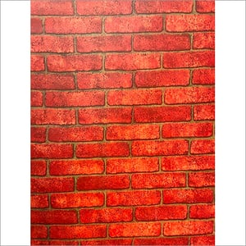 Red Brick Self Adhesive Stickers