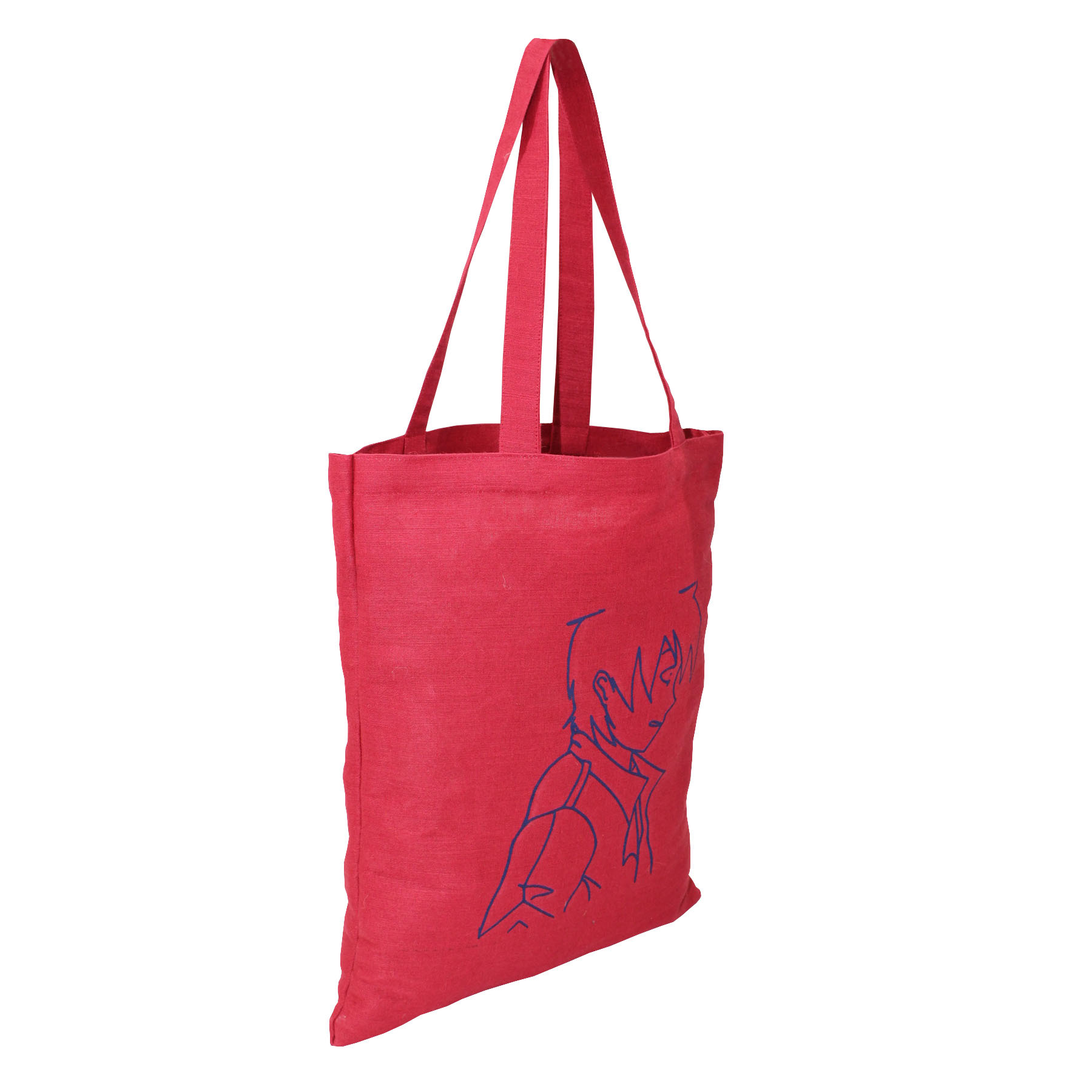 Juco Grocery Bag With Front Screen Print