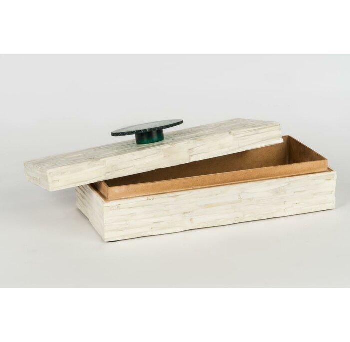 Bone Inlay Decorative Box