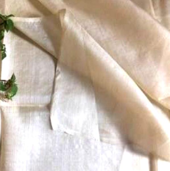 100% Tussar Silk Fabric