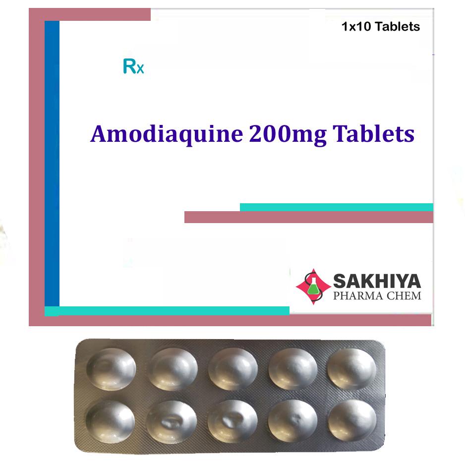 Amodiaquine 200mg Tablets