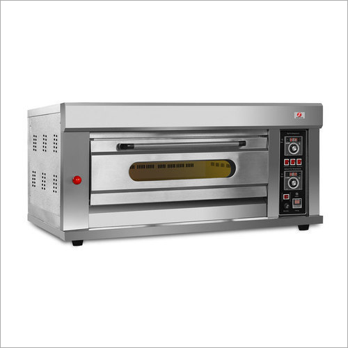 Bakery 1 Deck 2 Tray Gas Baking Oven