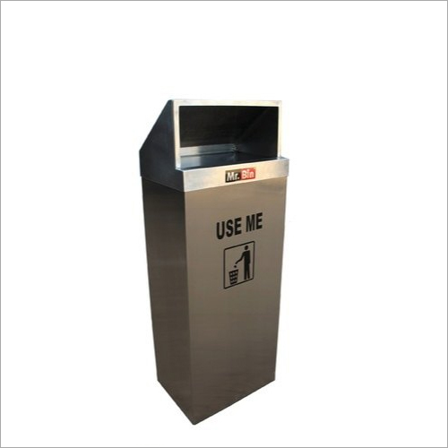 Commercial Stainless Steel Dustbin