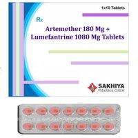 Artemether 180mg + Lumefantrine 1080mg Tablets