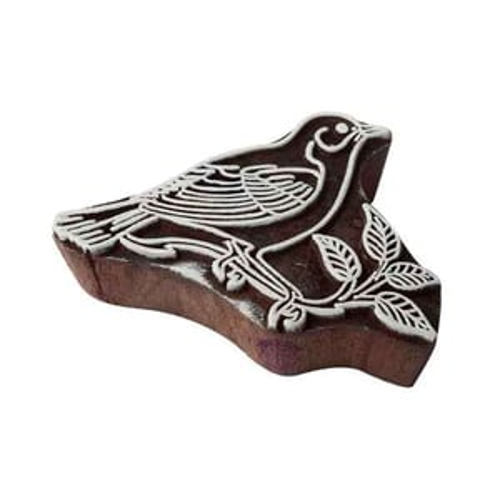 Bird Wooden Block Printing Stamps