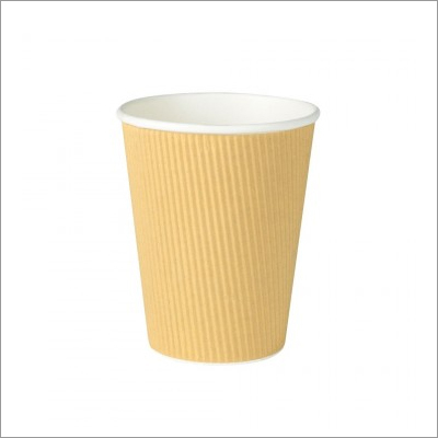 PLA Coated Ripple Cups