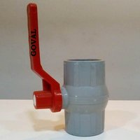 Pp Solid  Ball Valve Gray Ms Patti Handle