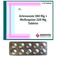 Artesunate 100mg + Mefloquine 220mg Tablets