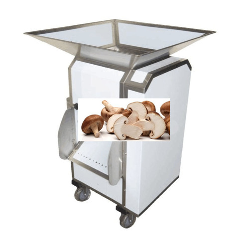 Automatic Mushroom Cutting Slicing Machine