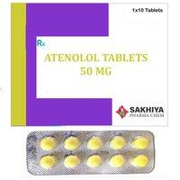 Atenolol 50mg Tablets