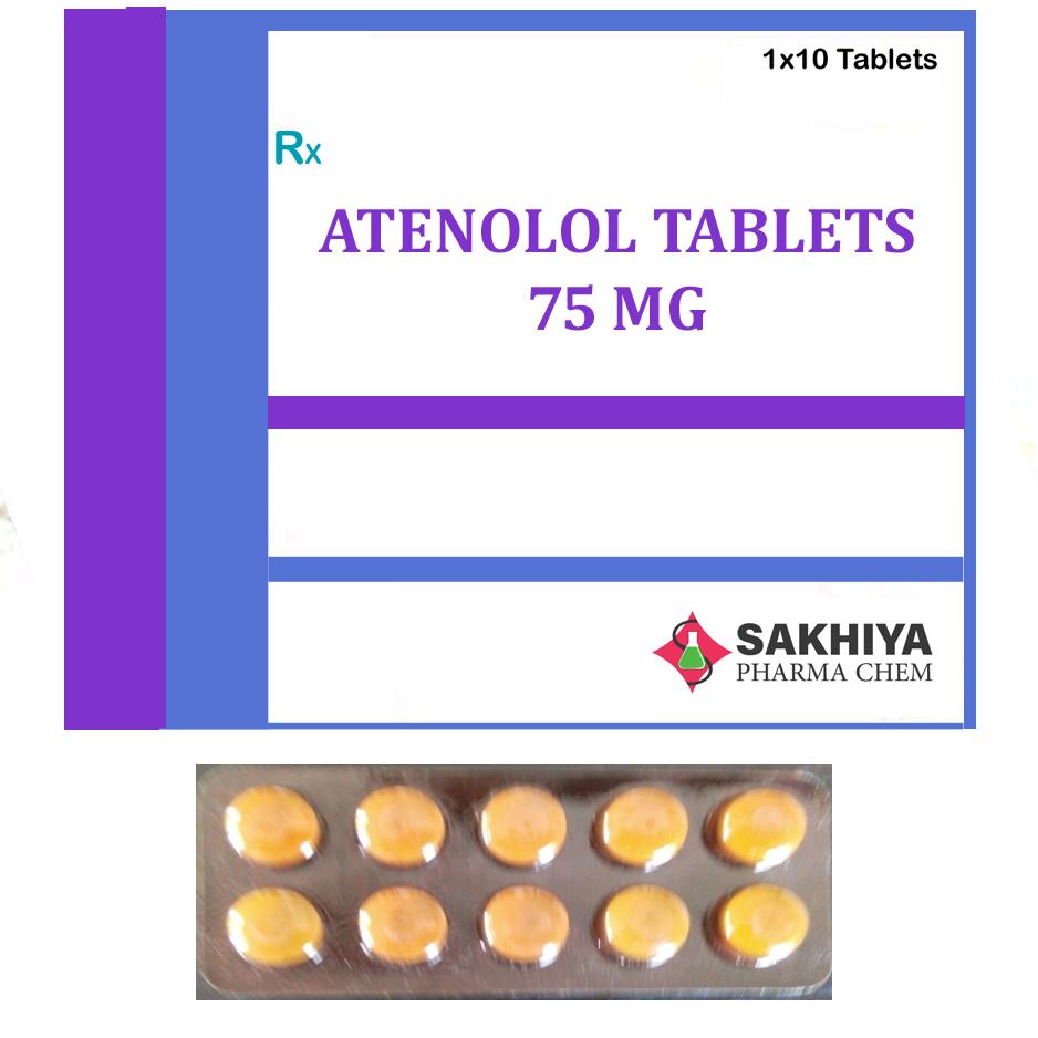Atenolol 75mg Tablets