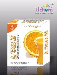 Dextrose Zinc Sulphate & Vitamin C Energy Drink