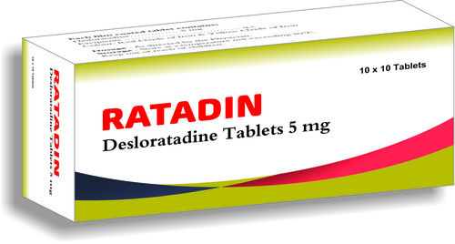 Antihistamines- Ratadin Desloratadine Tablets