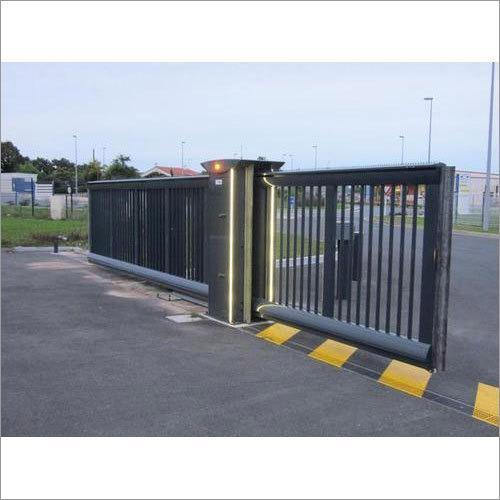 Main Entrance Sliding Gate Automation System