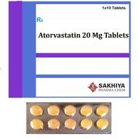 Atorvastatin 20mg Tablets