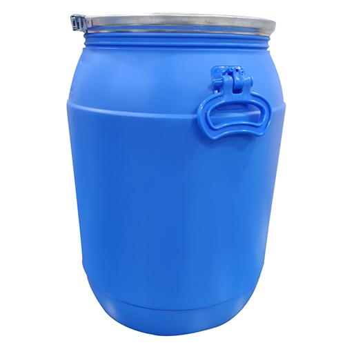 65Liters Sky Blue Open Top Drum