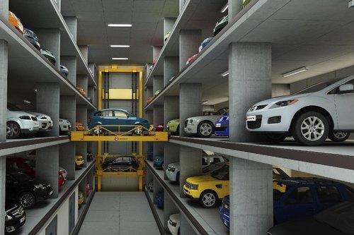 Varam Robotic Car Parking System