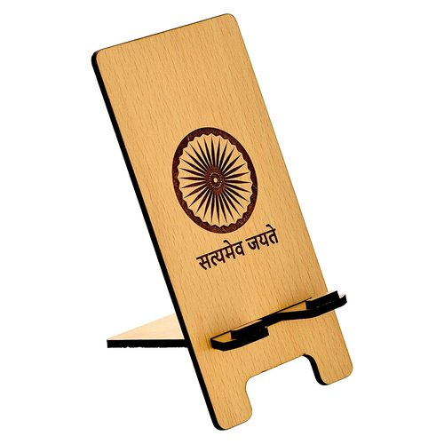 Wooden Stand Holder for Mobile Phone and Tablet