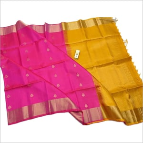 Ladies Double Shade Silk Saree