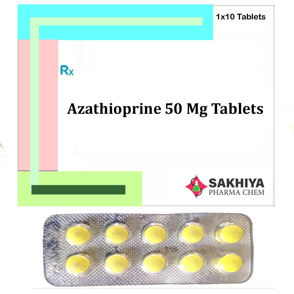 Azathioprine 50 mg Tablets