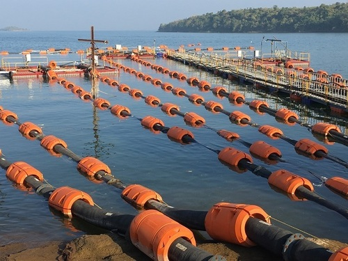 Dredge Pipeline Floats