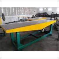 Table Vibrator Paver Block Making Machine