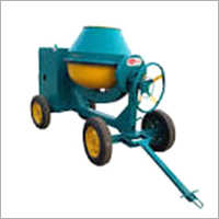 Concrete Mixer Machine With Wheel