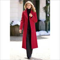 Ladies Woolen Long Coat