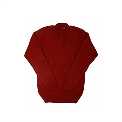 School Plain Sweater