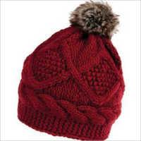 Ladies Fancy Woolen Cap