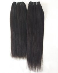 Natural Temple Straight Human Hair Extensions
