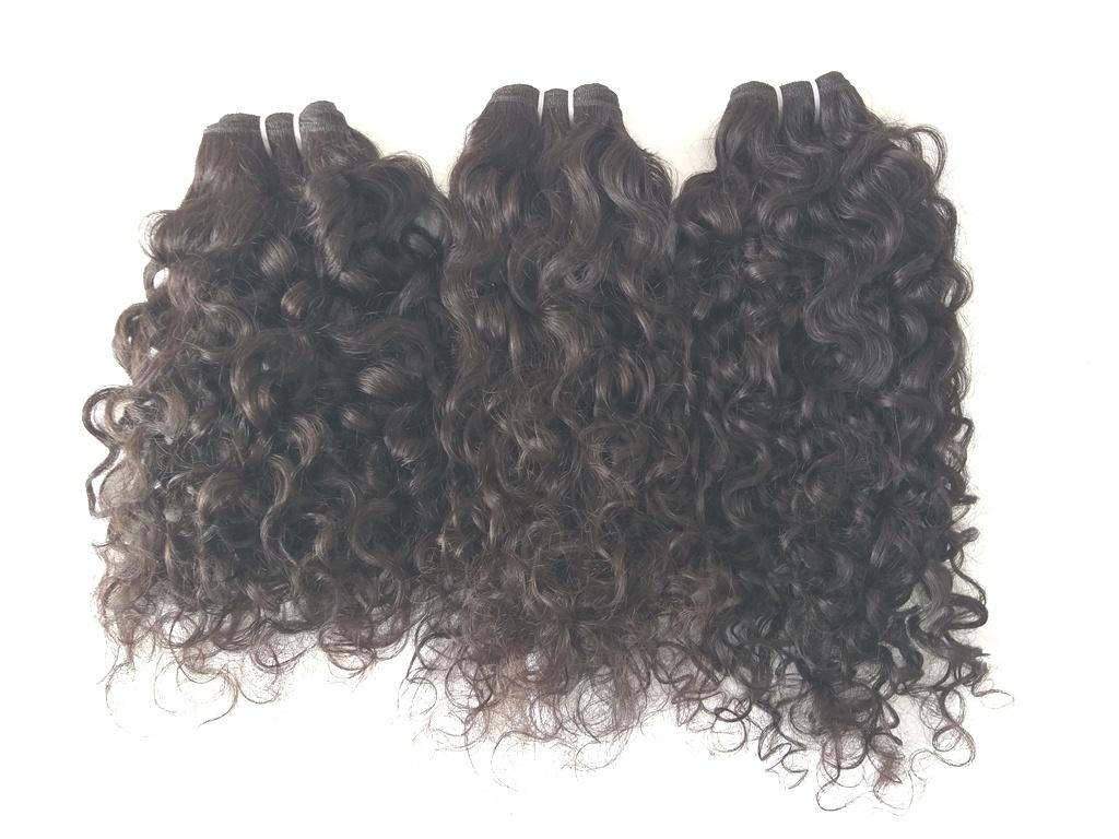 100% Virgin Curly Hair