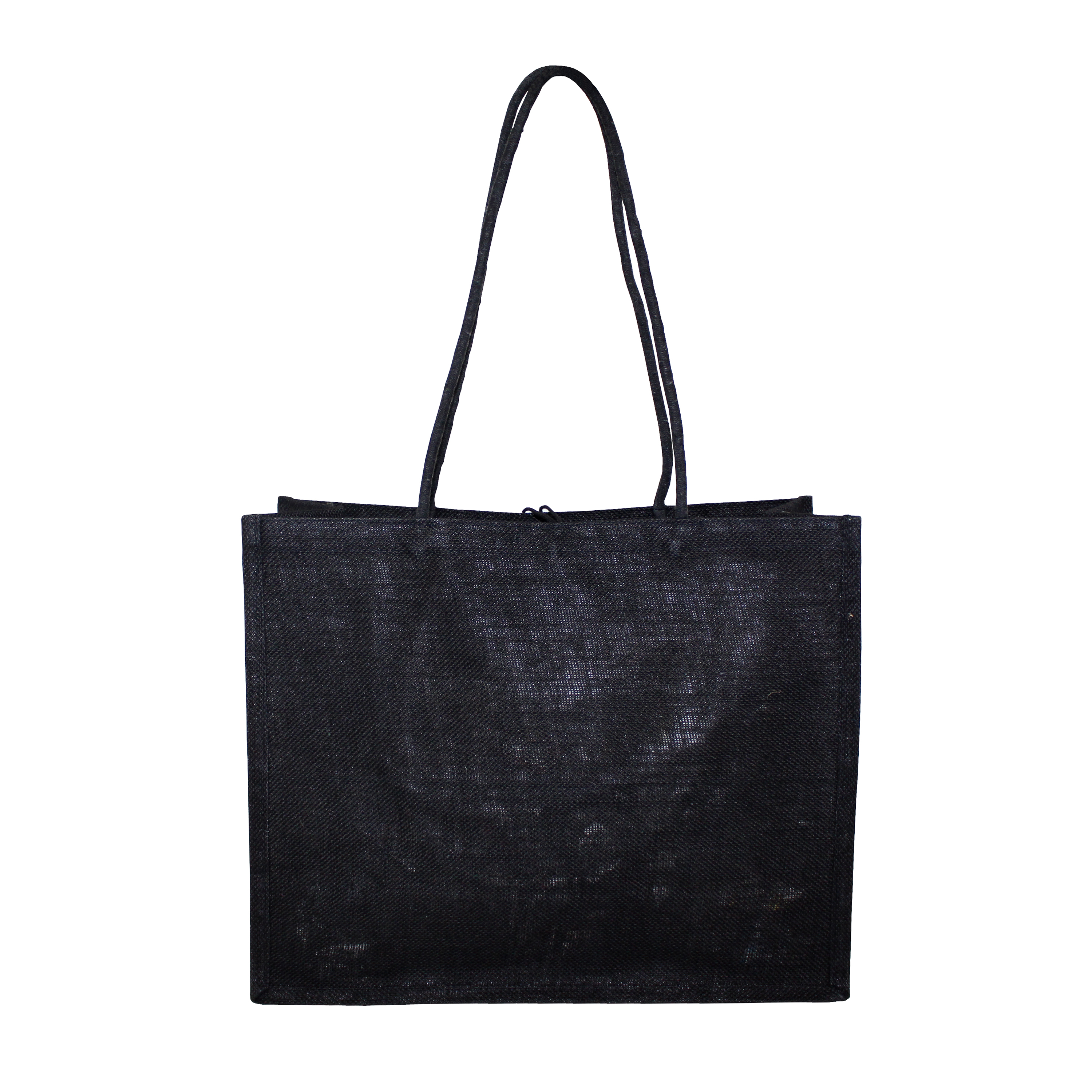 PP Laminated Jute Bag With Front Pocket