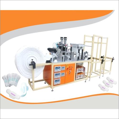 Semi-Automatic Sanitary Napkin Making Machine