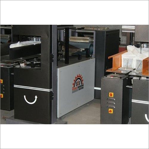 Automatic Four Fold Paper Napkin Making Machine