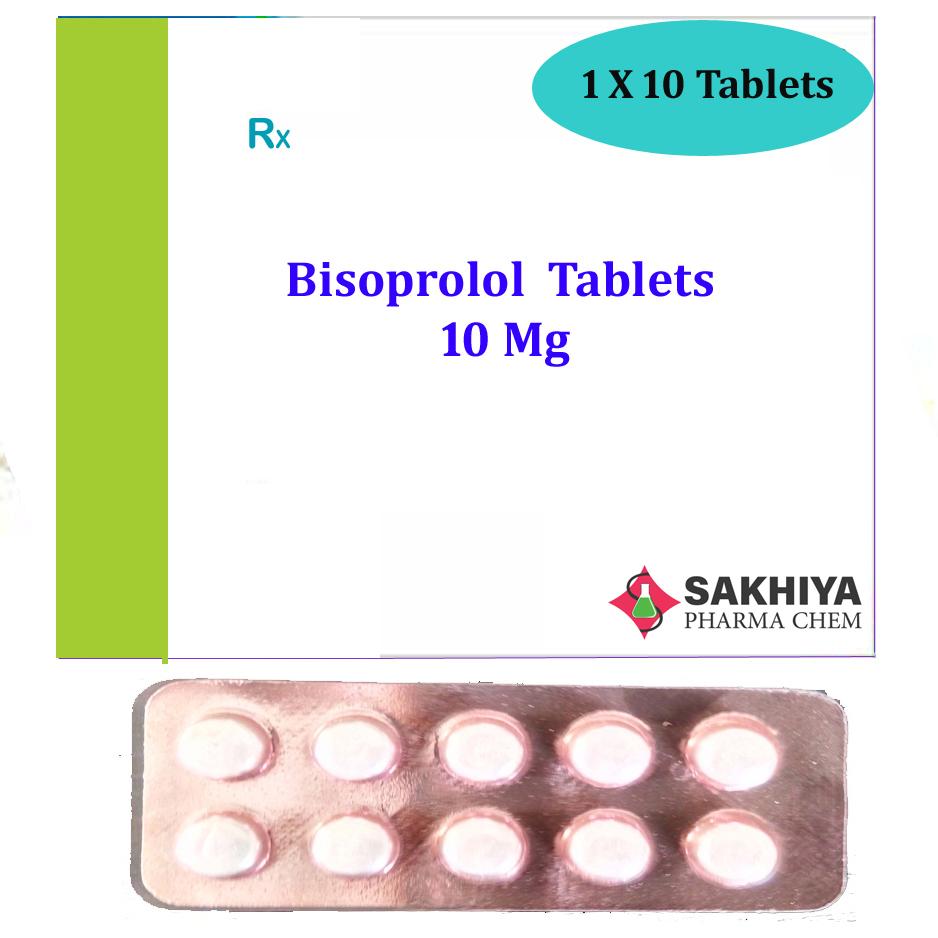 Bisoprolol 10mg Tablets