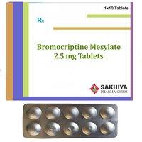 Bromocriptine Mesylate 2.5mg Tablets