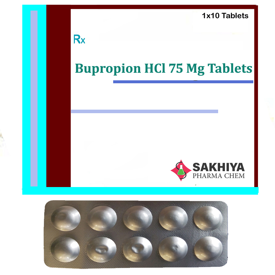 Bupropion Hcl 75mg Tablets