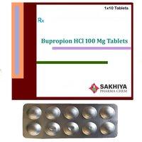 Bupropion Hcl 100mg tablets