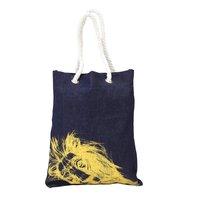 12 OZ Denim Fabric Grocery Bag